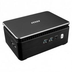 MSI Cubi 3 Silent S-005BEU i3-7100U 2,40 GHz 1,2 l tamaño PC Negro BGA 1356