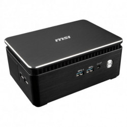 MSI Cubi 3 Silent S-005BEU i3-7100U 2.40 GHz 1.2L sized PC Black BGA 1356