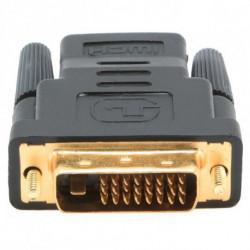 GEMBIRD Adattatore HDMI con DVI A-HDMI-DVI-2 Nero