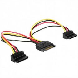 GEMBIRD Cable Alimentación SATA CC-SATAM2F-02 (15 cm)