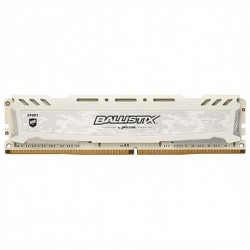 Crucial Memoria RAM Ballistix Sport LT 8 GB DDR4 Blanco