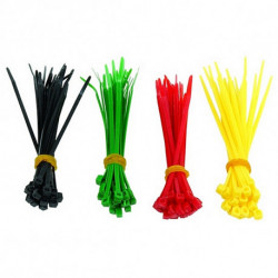 GEMBIRD Nylon Cable Ties NCT-100 (100 uds) Multicolour
