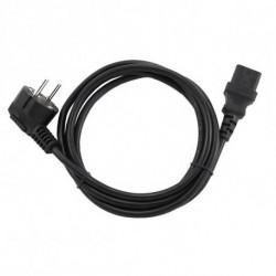 GEMBIRD Cable de Alimentación PC-186-VDE (1,8 m) Negro