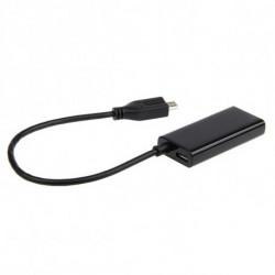 GEMBIRD Adattatore Micro USB con HDMI A-MHL-002 Nero