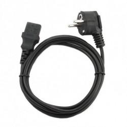 GEMBIRD Cable de Alimentación PC-186 (1,8 m) Negro