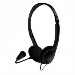 1LIFE Auriculares com microfone 1IFEHSSNDONE (3.5 mm) Preto