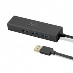 1LIFE Hub USB 3 Puertos 1IFEUSBHUB3 USB 3.0 Negro