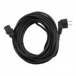 GEMBIRD Cable de Alimentación PC-186-VDE Negro 10 m