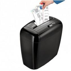 Fellowes Trituradora de Papel Micro Corte 3213601 12 L 5 Hojas Negro