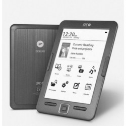 SPC Dickens e-book reader 8 GB Black