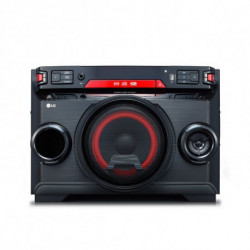 LG OK45 Home audio mini system Black,Red 220 W