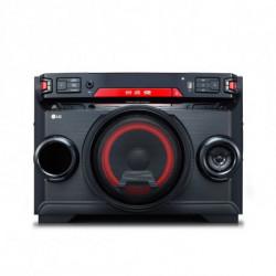 LG OK45 Système mini audio domestique Noir, Rouge 220 W