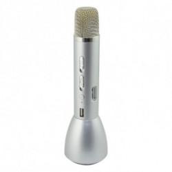 Microfono Karaoke Sing & Go Argentato