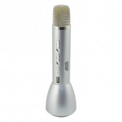 Micrófono Karaoke Sing & Go Plateado