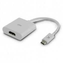 Adattatore USB C con HDMI Bianco