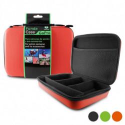 Custodia Rigida per Fotocamera Sportiva (24 x 17,5 x 5 cm) Rosso