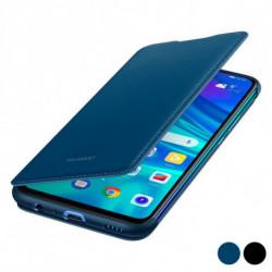 Huawei Étui de livre P Smart 2019 Flip Cover Cuir Bleu