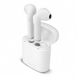 Auriculares sem fios Bluetooth Branco
