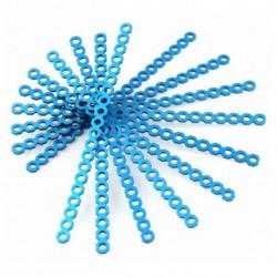 Makeblock Conetor Comprido Cortável 16 cm Azul (10 Uds)