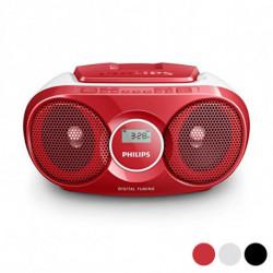 Philips Radio mit CD-Laufwerk AZ215/12 3W Silberfarben