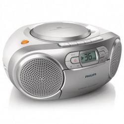Philips Audio-Kassette AZ127/12 FM 2W Silberfarben