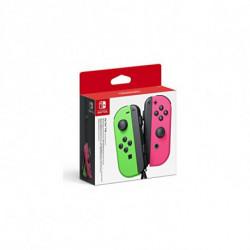 Nintendo Manette de jeu sans fil Joy-Con Vert Rose