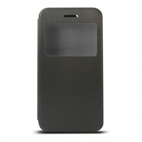 Folio phone cover with window Iphone 6 Plus Black