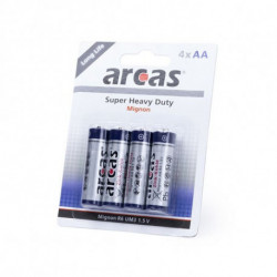 Batteries AA/R06 1,5V (4 uds) 142308 AA/R06