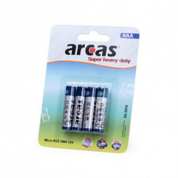 Pilhas AAA/R03 1,5V (4 uds) 142309 AAA/R03