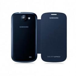 Samsung Flip cover Galaxy Express funda para teléfono móvil Libro Azul