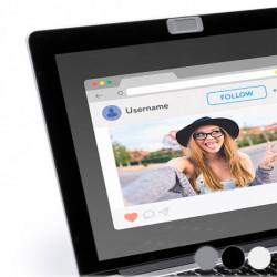 Couvercle pour Webcam 145801 Argenté
