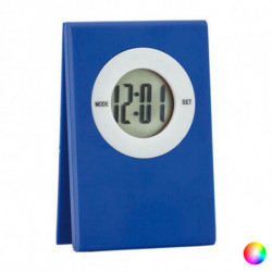 Relógio Digital de Mesa com Clipe 143232 Azul