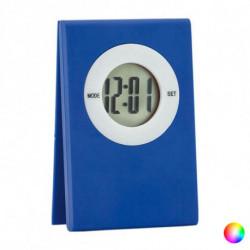 Digitale Desktop-Uhr mit Clip 143232 Schwarz