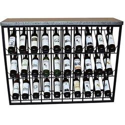 Suporte para garrafas Ferro (120 X 34 x 94 cm)