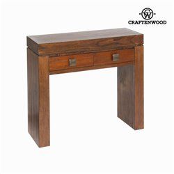 Console nature couleur noyer - Collection Nogal by Craftenwood