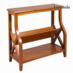 Magazine rack Brown (92 x 38 x 86 cm) - Serious Line Collection by Homania