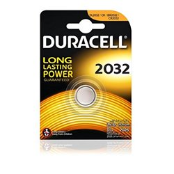 Batteria a Bottone a Litio DURACELL DRB2032 CR2032 3V