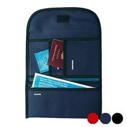 Portadocumenti da Viaggio Poliestere 300d 148946 Nero/Blu
