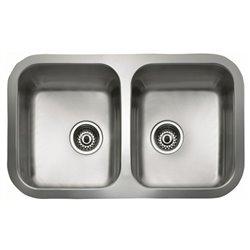 Lavello a Due Vasche Teka BE 2C 780 Acciaio inossidabile