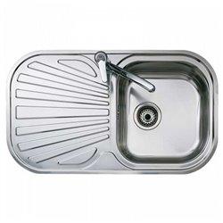 Lavello a Una Vasca Teka STYLO 1C1E Acciaio inossidabile