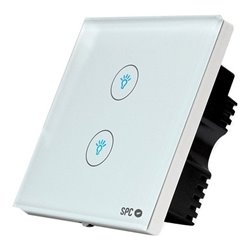 Interruttore Intelligente SPC Hemera 6204B WIFI 2.4 GHz Bianco