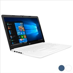 "Notebook HP 15-DA000NS 15,6"" Celeron® N4000 4 GB RAM 500 GB Bianco"