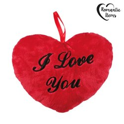 Corazón de Peluche I Love You Romantic Items (10 cm)