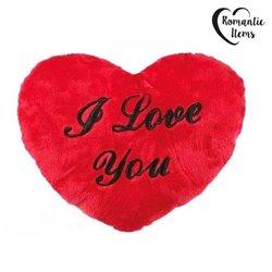 Coração de Peluche XL 60 cm I Love You