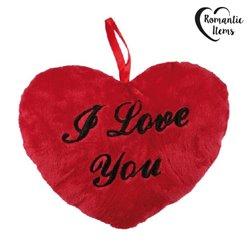 Coração de Peluche I Love You 26 cm