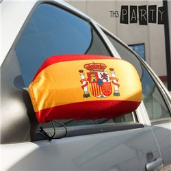 Außenspiegelflagge Spanien (2 Stück)