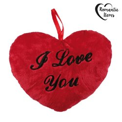 I Love You Plush Heart 18cm