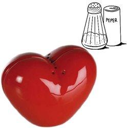 Heart Salt Cellar & Pepperpot