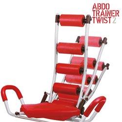 ABDO Trainer Twist Sit Up Bank mit Expandern