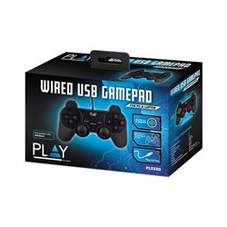 Controller Gaming Ewent PL3330 USB 2.0 PS3/PC Nero